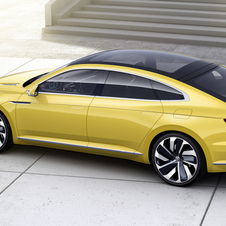 Featuring in the new concept is a plug-in hybrid system which Volkswagen wants to adopt in its models in the future