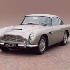 In the service of Her Majesty: Aston Martin DB5