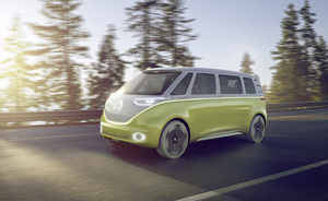 The 374hp MPV concept is powered by two electric motors
