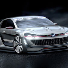 The GTI Supersport Vision Gran Turismo is equipped with a 503hp VR6 TSI engine with an automatic seven-speed dual-clutch