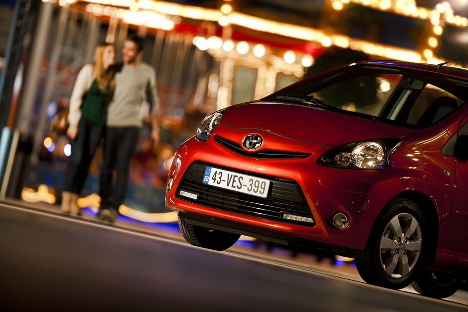 Toyota Adds Aygo Tabasco Edition with Orange Interior and Exterior