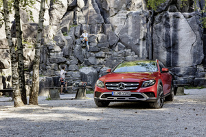 The German brand states that the All-Terrain is the most versatile E-Class ever