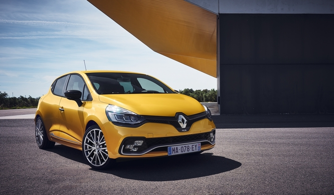 The Clio RS range will be sold with three different chassis, Sport, Cup and Trophy