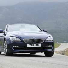 BMW 650i Cabrio xDrive AT