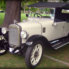 1925 Austin Twelve Clifton Tourer