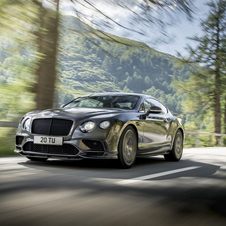 The Continental Supersports sprints to 100km/h in 3.5 seconds and reach a top speed of 336km/h