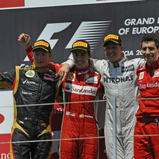 Ferrari wishes Massa would have done better, and Raikkonen wanted to win