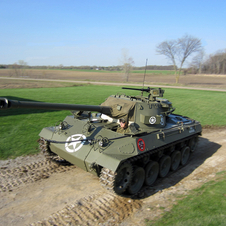 It was considered the fastest tank of its time and had an automatic transmission, which was novel at the time