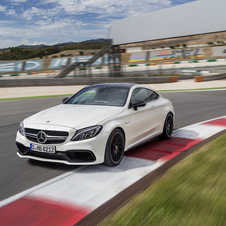 It is equipped with the same bi-turbo V8 4.0-liter petrol engine  from the C63 sedan and station wagon