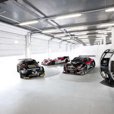 The vehicles and simulator used during the GT Academy