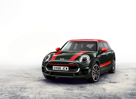 The Clubman John Cooper Works is powered by the four-cylinder TwinPower turbo engine with 231hp