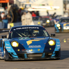 The Felbermeyer-Proton Porsche was second in class at the 12 Hours of Sebring