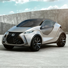 The LF-SA concept is a preview of a model to compete with Mini and Audi A1