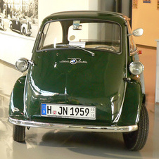 BMW-Isetta Isetta Police Vehicle