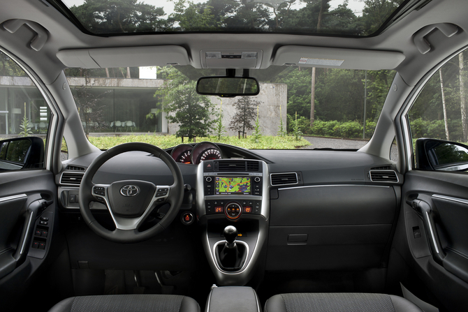The interior has more soft touch materials than the previous generation