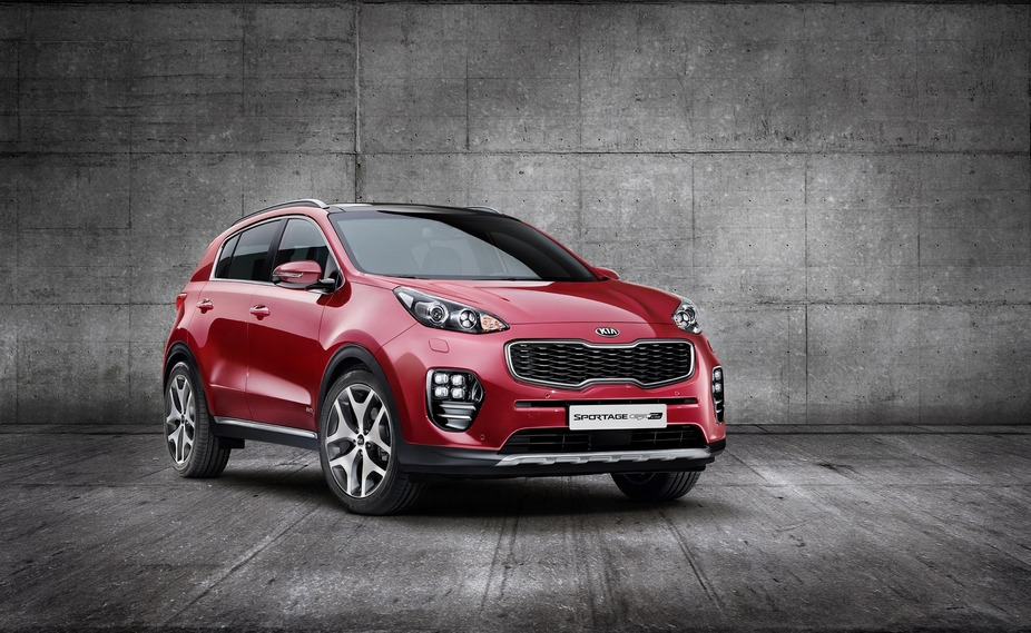 The new Kia Sportage receives a major transformation in terms of design, especially at the front, but also on the sides and rear