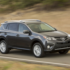 The new RAV4 will only be available only with a four-cylinder engine