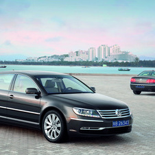 The Phaeton will be positioned at VW's US flagship model