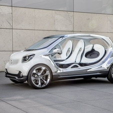 The Smart Fourjoy previews the look of the next Smart car