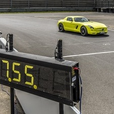 The car holds the new record for a production car EV lap