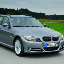 BMW 320d xDrive Touring (E91) LCI