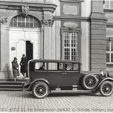 Mercedes-Benz 24/100/140 HP Pullman Saloon