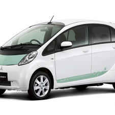 The Mitsubishi i-MiEV is also popular