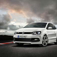 The Polo R Line has a deeper, more aggressive front bumper