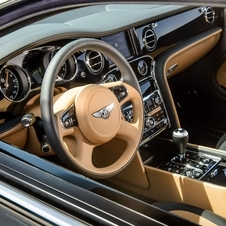 Inside the Bentley offers new customization options of the vehicle, including new finishes and coatings
