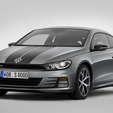The coupe retains the same 220hp 2.0 engine  turbo used in the Scirocco standard range