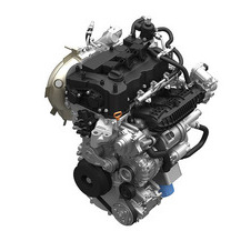 The 1.0-liter will be the smallest of the VTEC Turbo engine family with three cylinders