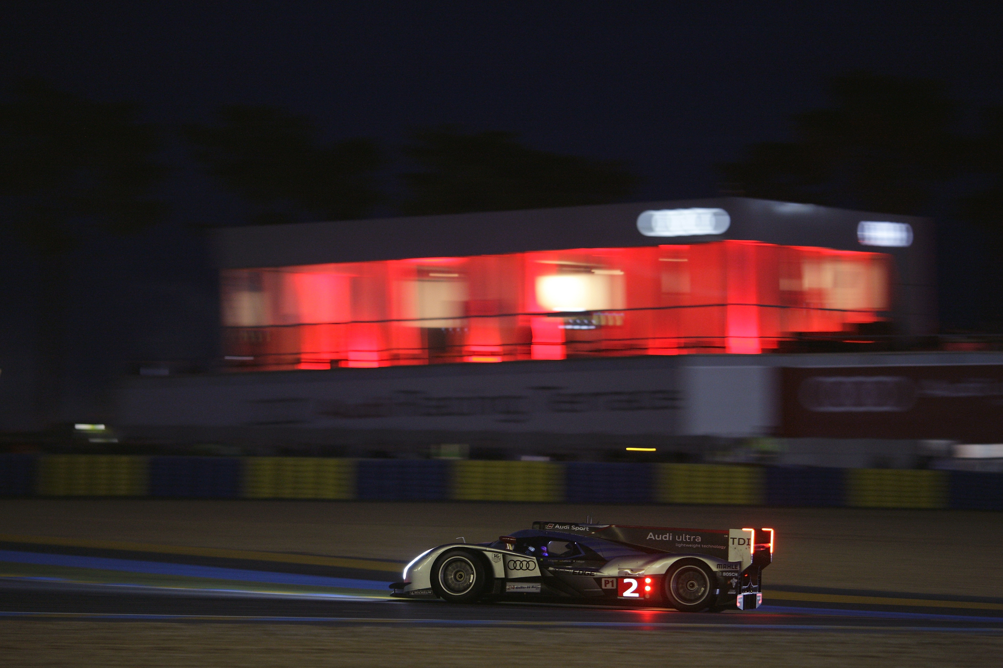 Audi takes pole at Le Mans