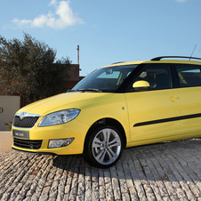 Skoda Fabia Break 1.2 TDI 75 hp Active