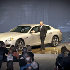 The new Quattroporte will get either a twin-turbo V6 or twin-turbo V8