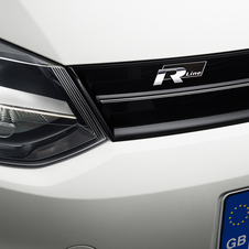 The cars also get a small R Line badge