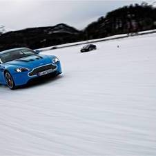 Aston Martin on Ice Finishes with a Video