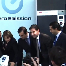 It is the first public electric car charger in Mexico
