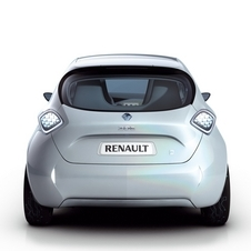 Production Version of Renault ZOE Electric Car at Geneva