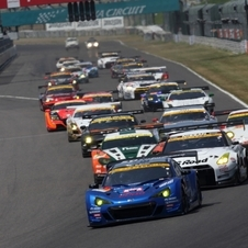 Subaru won its class in the last Super GT race