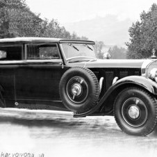 Mercedes-Benz 630 Supercharged Cabriolet Farina