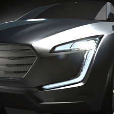 The VIZIV Concept is meant to show the future of Subaru exterior design
