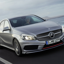 Mercedes has launched the A-class already in some markets and expect it to be a huge seller