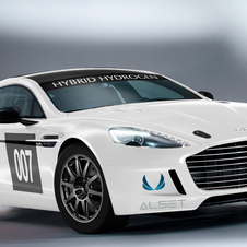 The car will make its competition debut at the Nürburgring 24 Hours in May