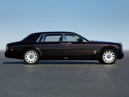 It is based on the Series II Phantom with the improved infotainment system, eight-speed gearbox and direct-injected engine