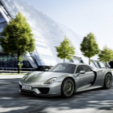 The 918 has just entered production
