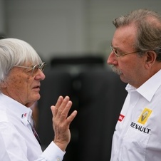 Ecclestone has said he would step down from Formula 1 if convicted