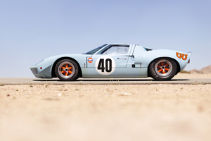 It was among the original Gulf-livered cars