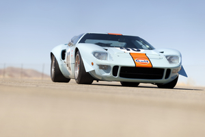 1969 Winner and Le Mans Camera Car GT40 Crossing Auction Block