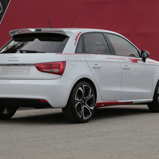 Audi A1 Competition R18 Red Plus