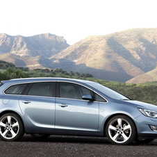 Vauxhall Astra Sports Tourer 1.4 100 ES